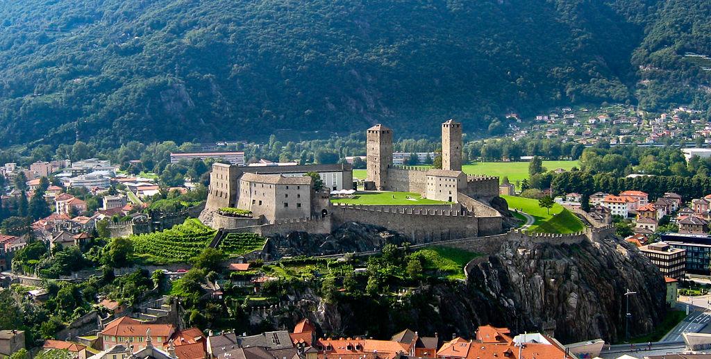 Bellinzona – město tří hradů