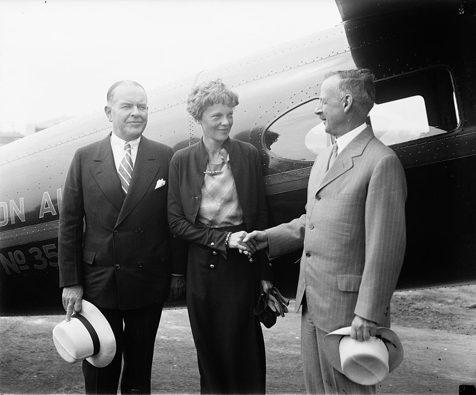 Legendární Amelie Earhartová zmizela v Tichém oceánu