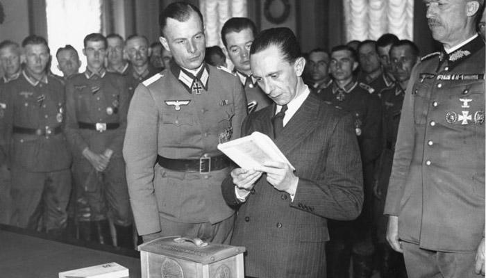 Vládce nacistické propagandy Goebbels