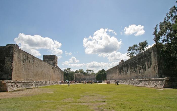 Mayská památka Chichén Itzá