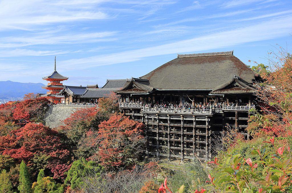 Skvostný buddhistický klášter Kijomizu