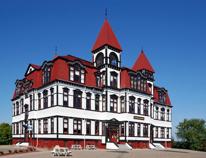 Pestré město Lunenburg