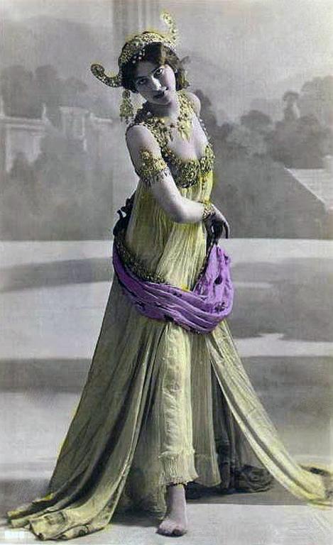 Mata Hari, špionka se špatným koncem