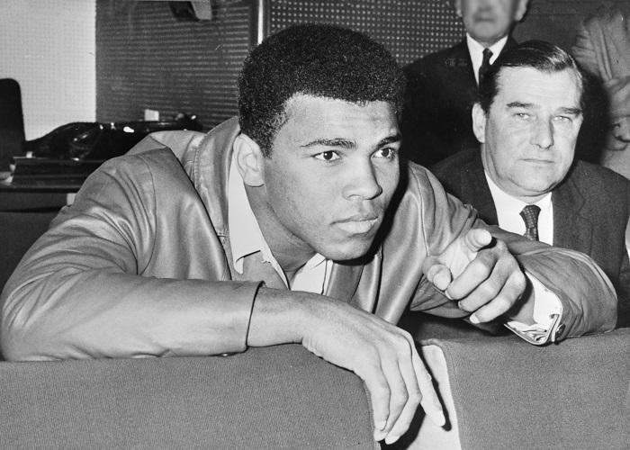Tvrdý boxer Muhammad Ali