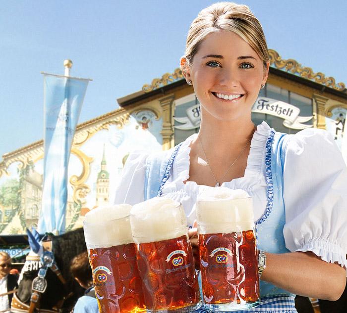 Největší pivní veletrh Oktoberfest