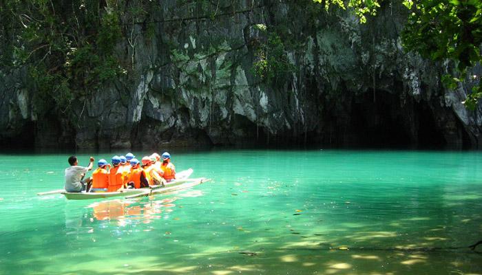 Podzemní řeka Puerto-Princesa