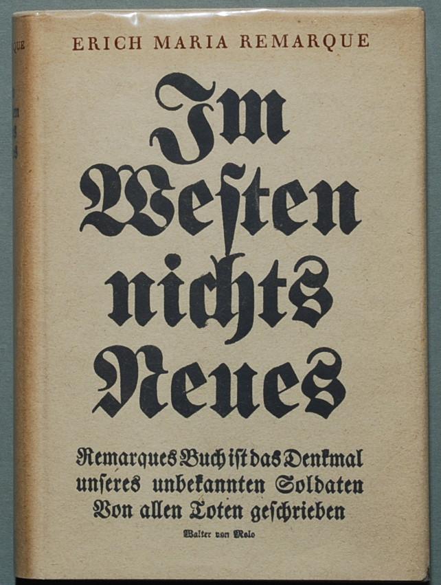 Životní příběh slavného spisovatele E. M. Remarquea