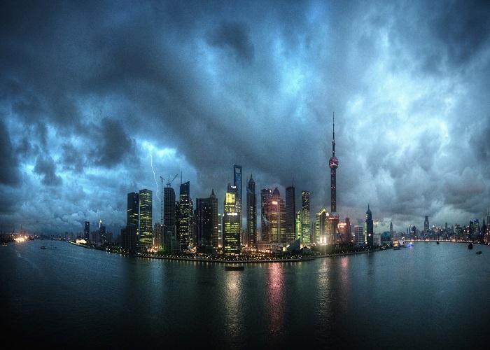 Čínské megaměsto Šanghaj