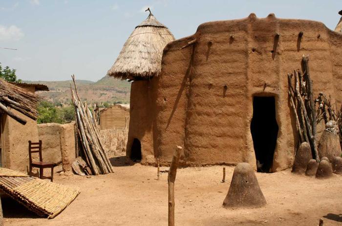Africké hrady z bláta