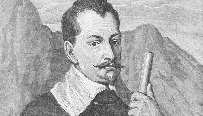 Slavný vojevůdce Albrecht z Valdštejna