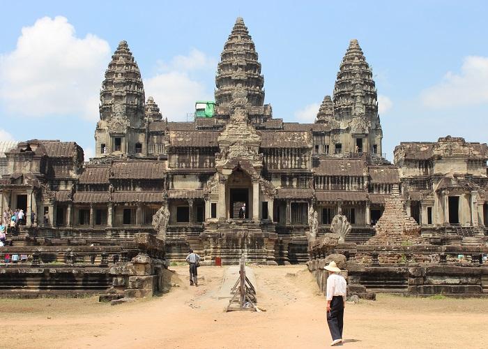 Tajuplný chrám Angkor Vat