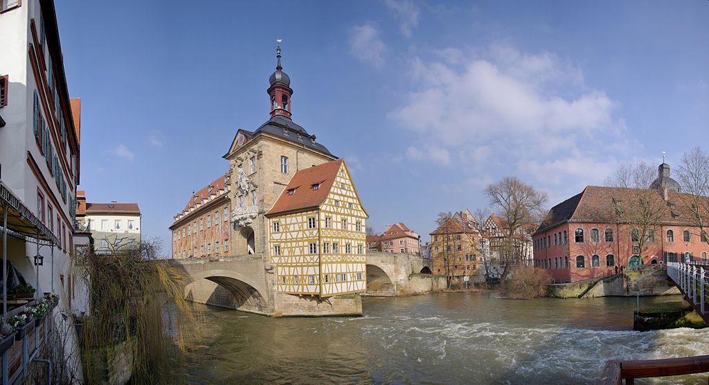 Starobylé německé město Bamberk
