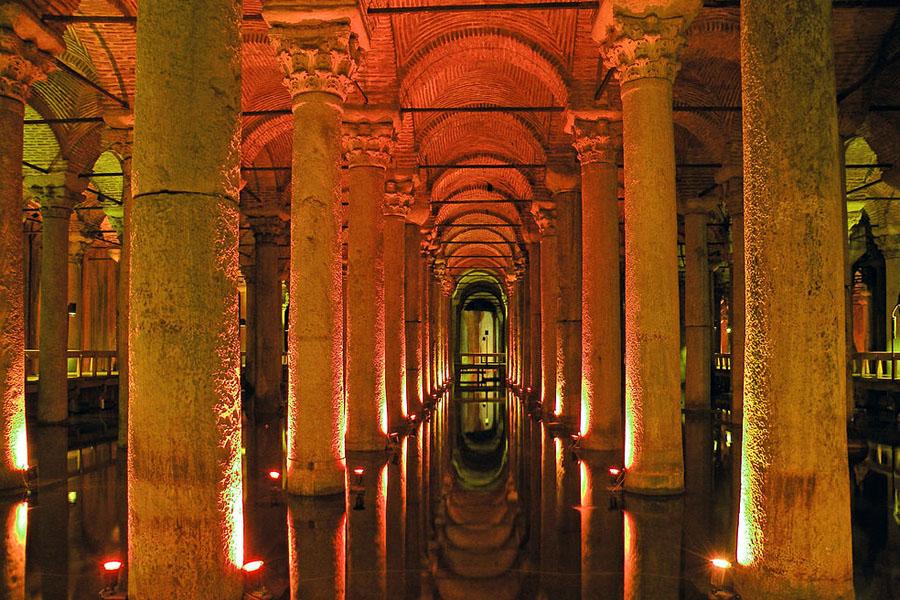 Bazilika Cisterna v Istanbulu