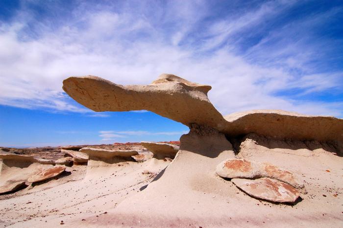 Bisti Badlands – poněkud bizarní poušť