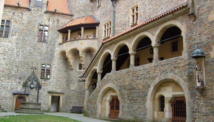 Romantický hrad Bouzov