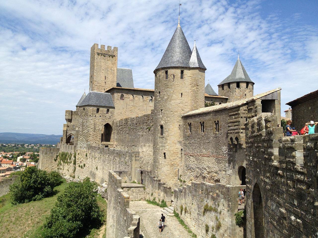 Majestátní hrad Carcassonne