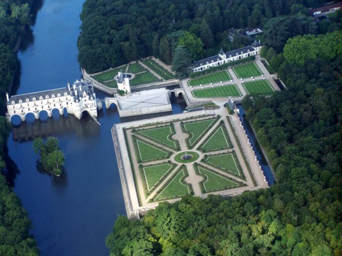 Zámek v údolí Loiry – Chenonceau