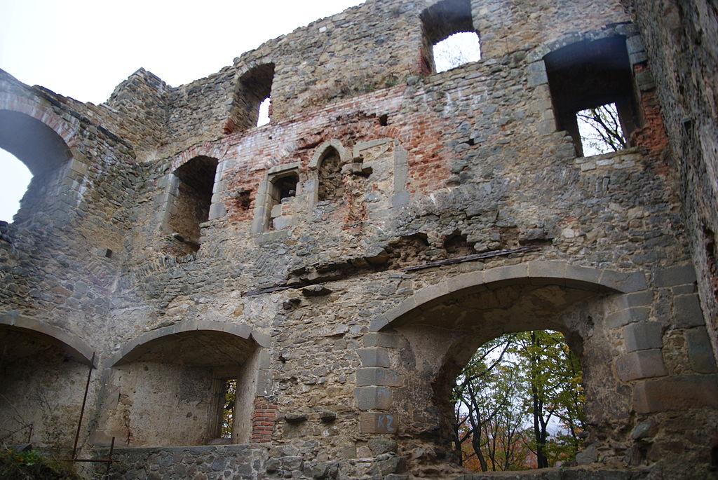 Zřícenina gotického hradu Cimburk