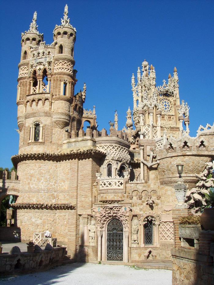 Španělský Colomares Castle