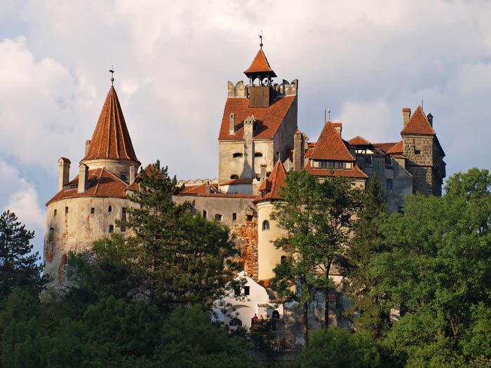 Transylvánské hrady legendárního Drákuly