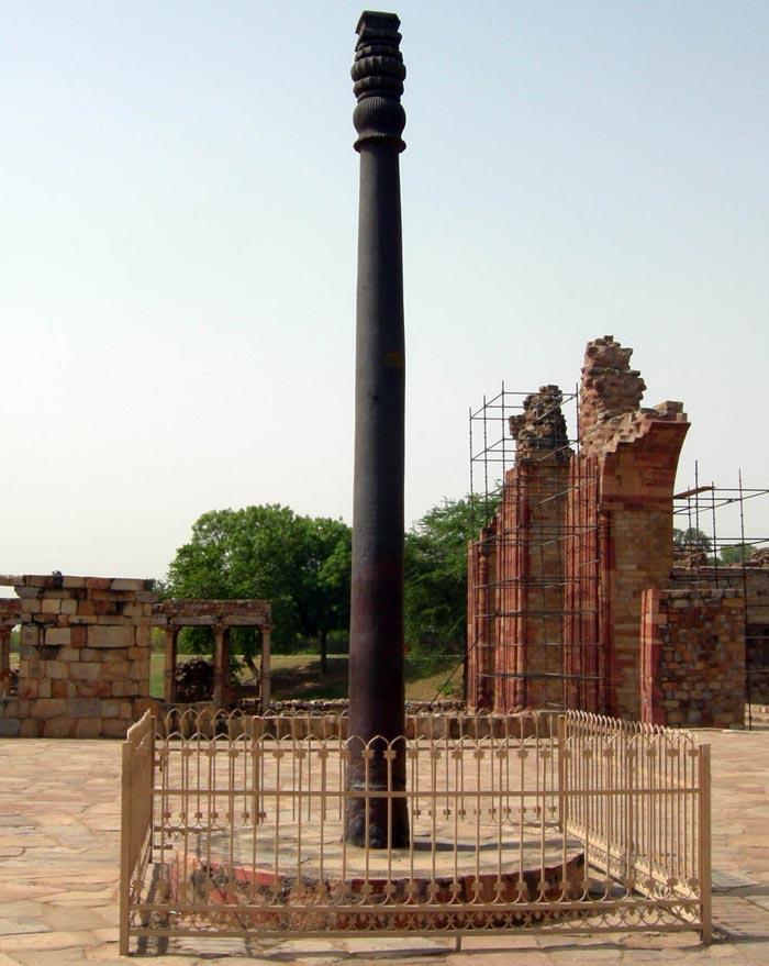 Železný pilíř vindickém Dillí