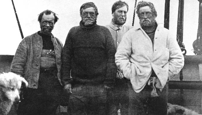 Polární badatel Ernest Henry Shackleton