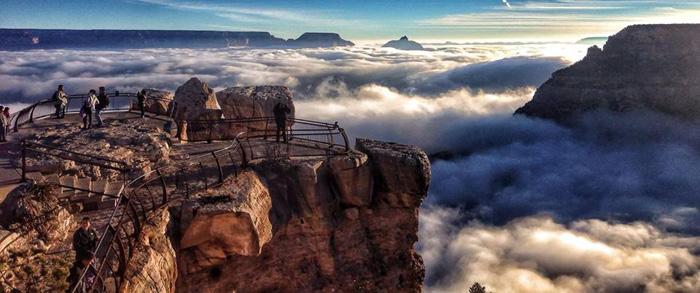 Proslulý americký Grand Canyon