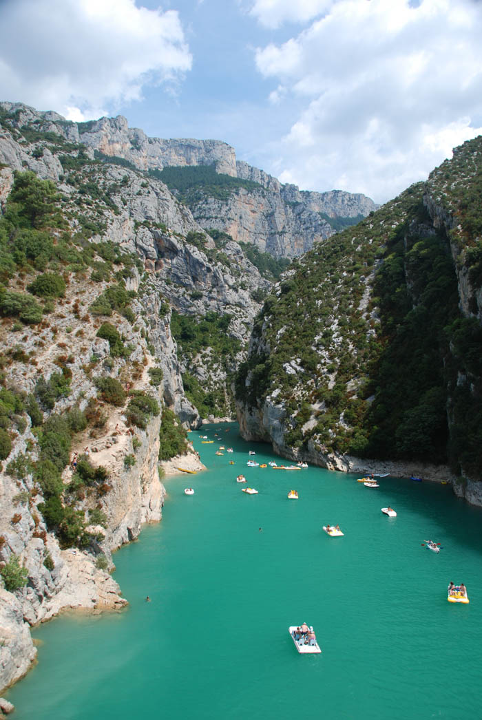 Klenot  Francie - Grand canyon du Verdon