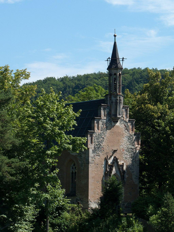 Hauenštejn – hrad přestavěný na zámek