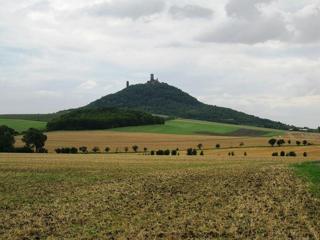 Dominanta Českého středohoří – hrad Házmburk