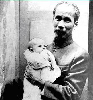 Vietnamský bojovník za svobodu Ho Či Min