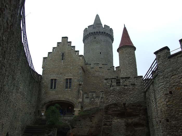 Impozantní hrad Kokořín