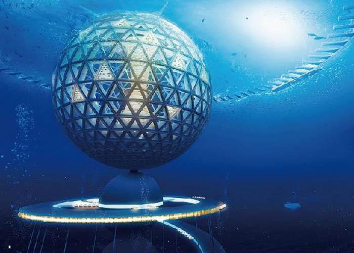 Japonci plánují podmořské město