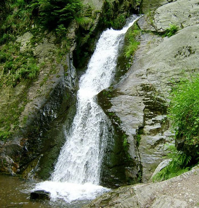Jesenické Rešovské vodopády