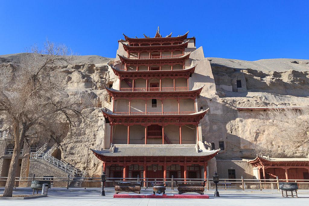 Čínské jeskyně Mo-kao