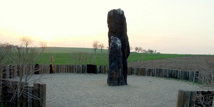 Největší český menhir Kamenný pastýř
