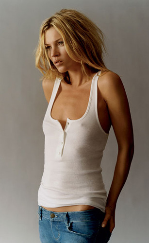 Supermodelka Kate Moss