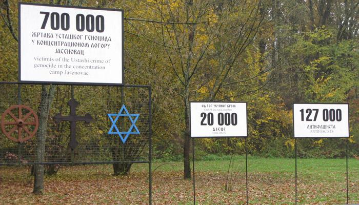 Chorvatský koncentrační tábor Jasenovac