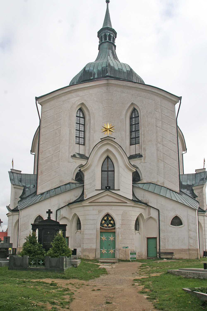 Památka UNESCO – Kostel sv. Jana Nepomuckého na Zelené hoře
