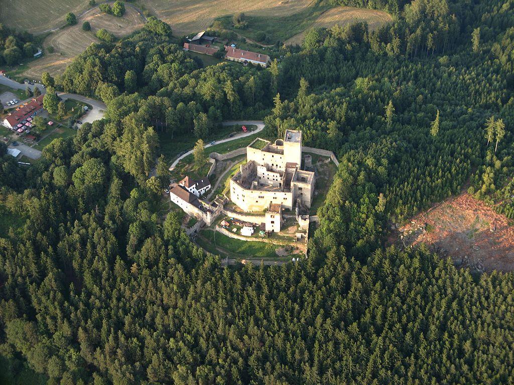 Landštejn – rejdiště bílé paní a ducha Viléma