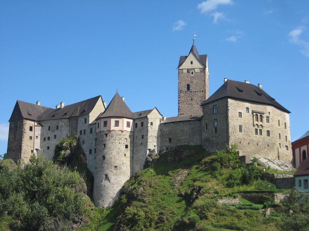 Loket – jeden z nejstarších českých královských hradů