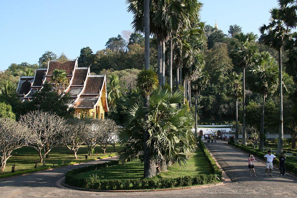 Luang Prabang a jeho historické jádro, které je součástí UNESCO
