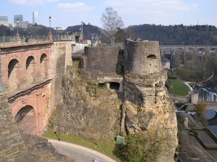 Malebné město Lucemburk