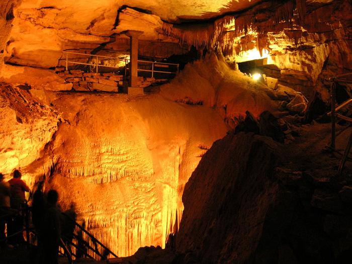 Mamutí jeskyně – nejdelší na světě