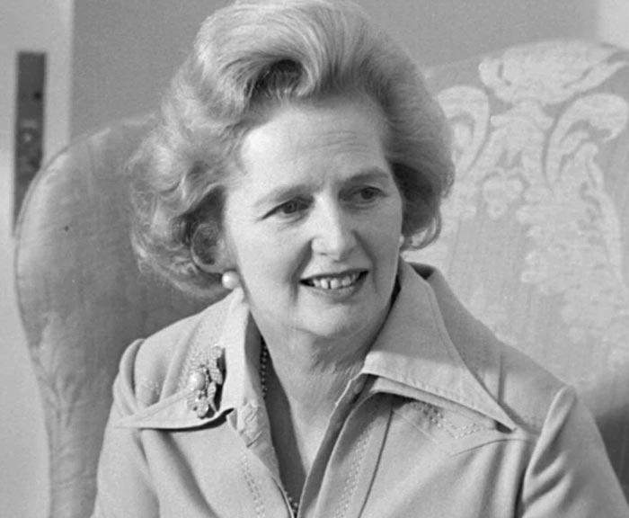Železná lady Margaret Thatcherová
