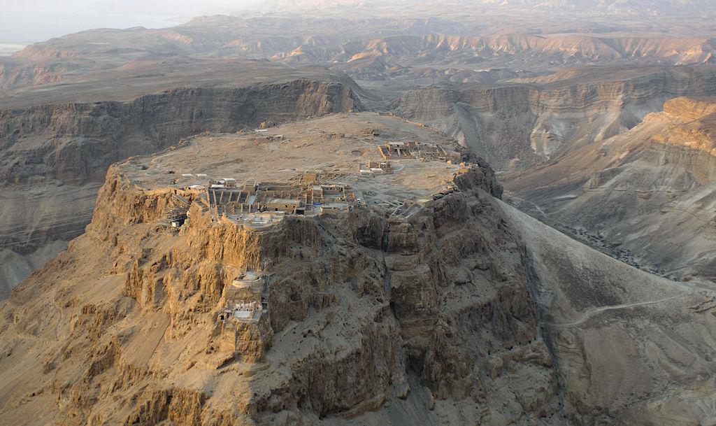 Pevnost Masada v Izraeli