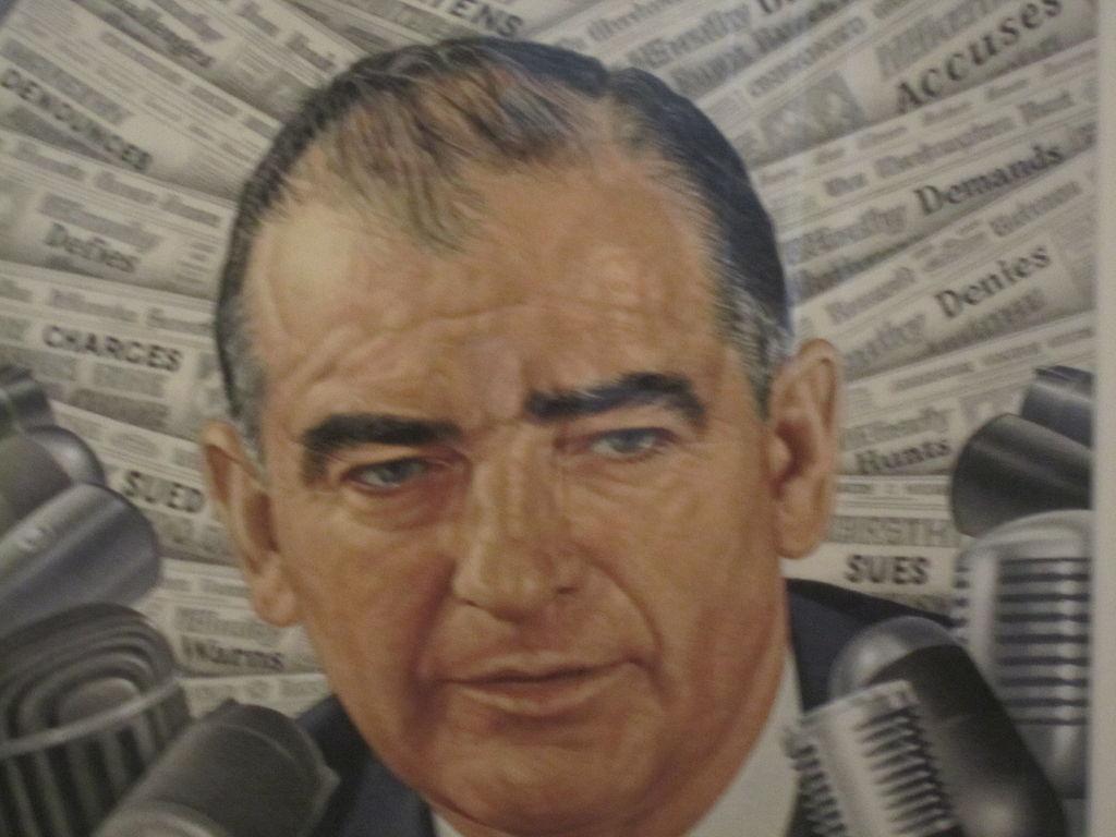 Horlivý antikomunista Joseph McCarthy