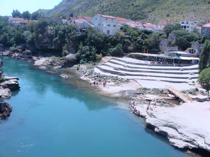 Válkou poznamenaný Mostar