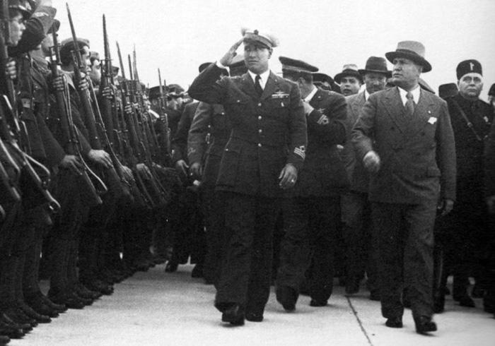 Mussolini nechal popravit svého zetě