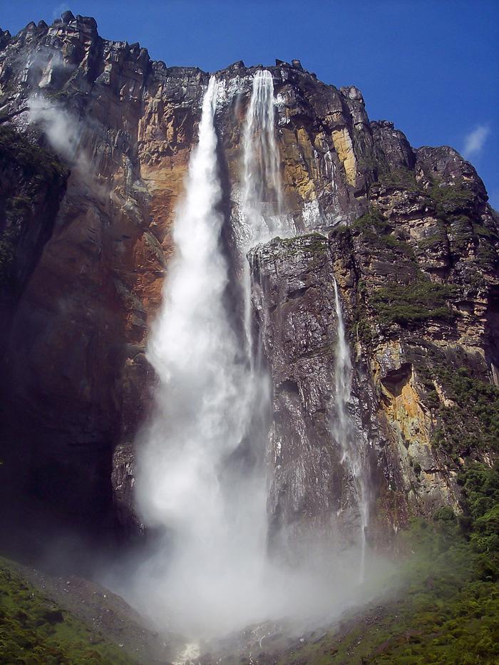 Nejvyšší vodopád na světě Salto Ángel